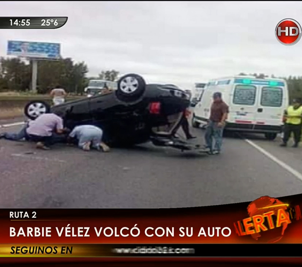 Accidente de B�rbara V�lez