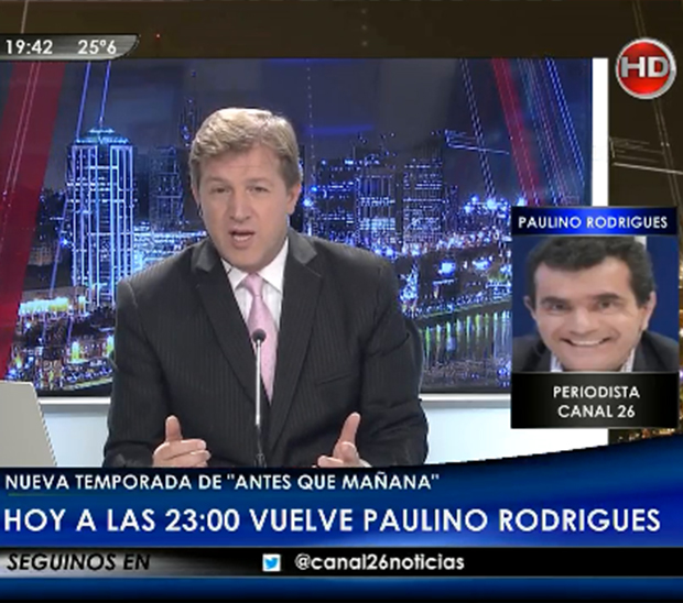 Paulino Rodr�gues (Canal 26)