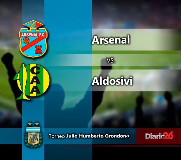 Torneo Julio Grondona - Arsenal vs. Aldosivi