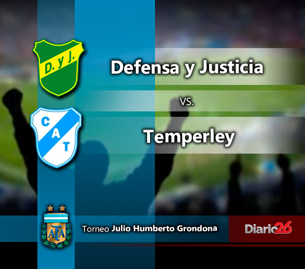 Torneo Julio Grondona - Defensa y Justicia vs. Temperley
