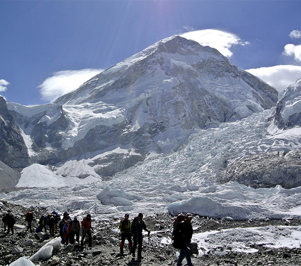 Avalancha en el Everest (Reuters)