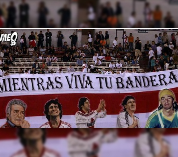 Afiches de River vs. Cruzeiro