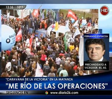 Fernando Espinoza en Canal 26: