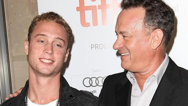 Chet Hanks y Tom Hanks