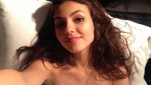 Hackean cuenta de Victoria Justice y filtran fotos desnuda