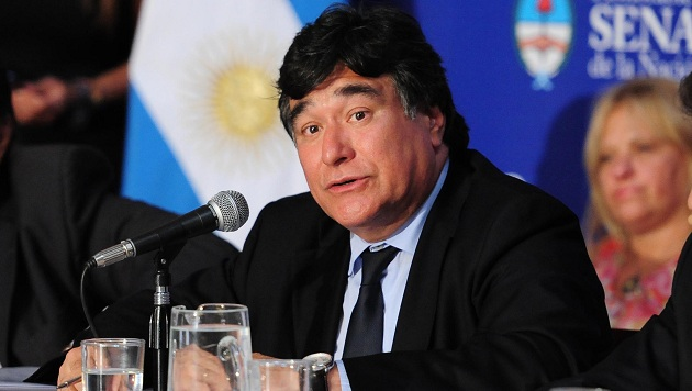 Zannini chocó a una periodista en Río Gallegos e intentó huir