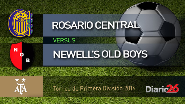 Torneo de Primera Divisi�n 2016 - Rosario Central vs. Newells Old Boys