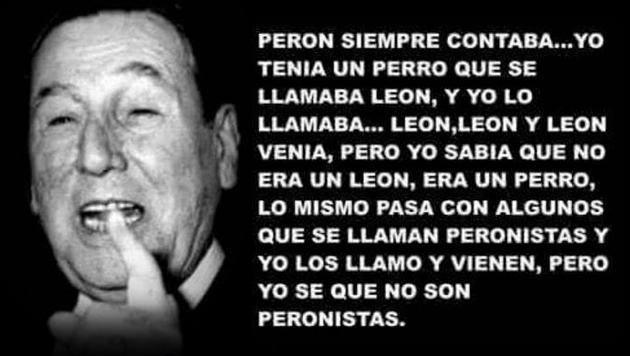 La frase de Perón que revoluciona las redes sociales