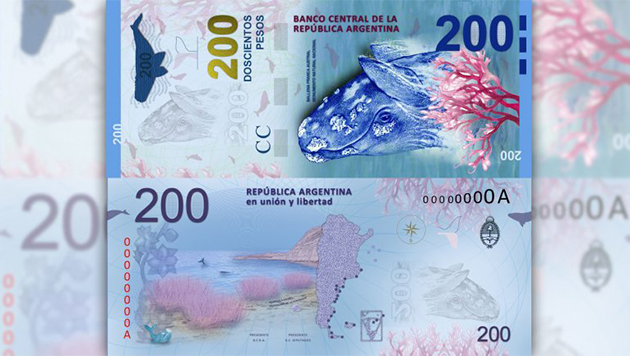 Billete de 200 pesos