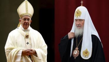 Francisco se reunirá con el patriarca ruso Kiril en Cuba