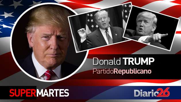 Super Martes - Donald Trump