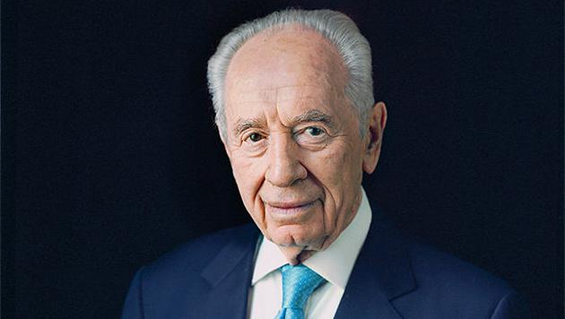 Shimon Peres, internado tras un derrame cerebral