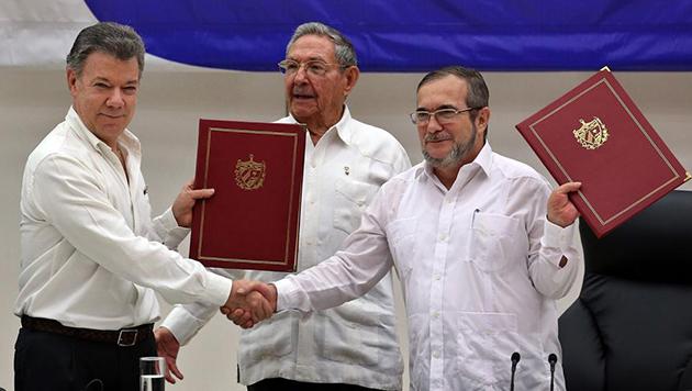 Colombia hace historia y firma la paz con la FARC