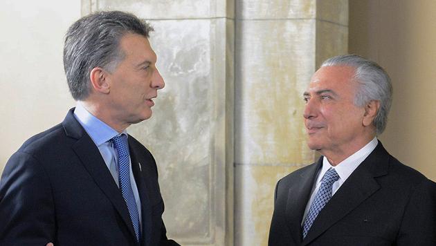Mauricio Macri recibirá a Michel Temer en la Rosada