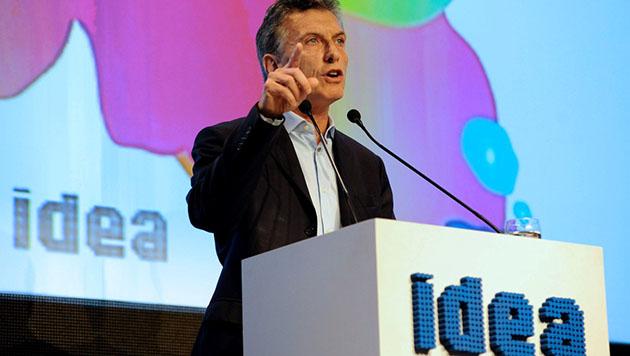 Macri abrió el 52° coloquio de IDEA