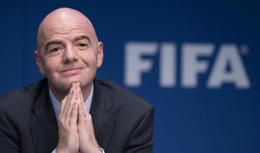 Infantino, presidente de la FIFA, da positivo en coronavirus