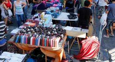 La venta ilegal callejera subió 16,4% en la Ciudad durante el mes de abril
