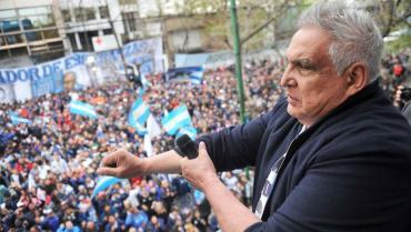 """Liberaron al """"Pata"""" Medina, ex líder de la UOCRA de La Plata, acusado de lavado de dinero"""