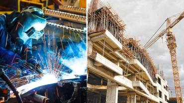 Indec: la construcción cayó 14,8% y la industria 6,6% en junio por cuarentena de coronavirus