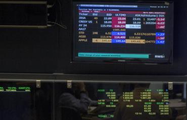 Merval en caída: acumula un derrumbe de 11,26% en las últimas tres ruedas