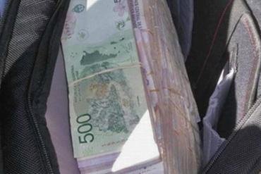 Causa contra Milagro Sala: detienen en allanamiento a hombre que escapaba con bolso con dinero