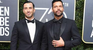 """""""Estamos embarazados"""", la frase con la que Ricky Martin confirmó que volverá a ser padre"""