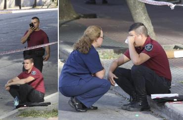 Tiroteo en San Telmo: más de 20 tiros, un muerto, dos heridos y temor en la calle