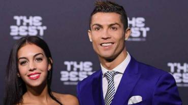 El sexy look de Georgina para alentar a su pareja Cristiano Ronaldo
