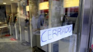 Viernes sin bancos: la Bancaria convocó un paro de 24 horas