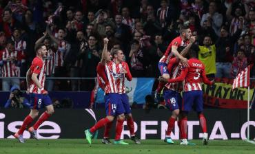 Atlético Madrid venció al Arsenal y está en la final de la Europa League
