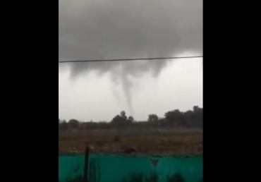 Video: un tornado azotó a Tigre