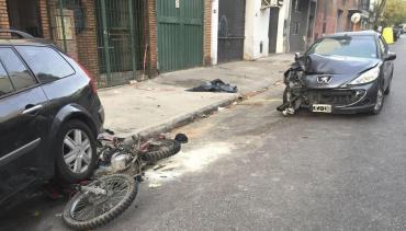Bailarina de pole dance atropelló y mató a motochorro que le robó el celular