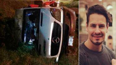 Ex líder de Ráfaga cayó a un precipicio de 20 metros en Rosario