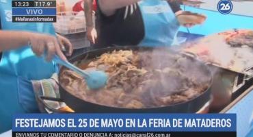 Los festejos del 25 de Mayo en la feria de Mataderos