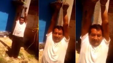Vecinos secuestraron a funcionario municipal y amenazan con quemarlo vivo