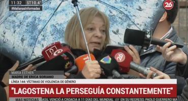Madre de Erica Soriano: