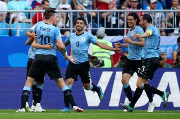 Mundial Rusia: Uruguay goleó a Rusia y se quedó con el primer puesto del grupo A