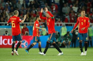Mundial Rusia 2018: España empató con Marruecos y jugará con Rusia en octavos