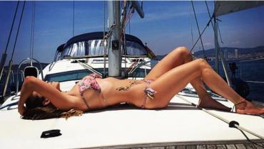 Diosa Mundial: la sensual esposa de Rakitic que se roba todas las miradas en la final