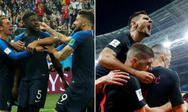 Final Mundial Rusia 2018: así llegan Francia y Croacia a la gran definición