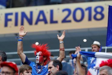 Final Mundial Rusia 2018: las mejores imágenes de la mayor fiesta del fútbol