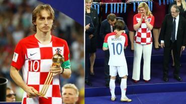 Luka Modric, sucesor de Messi como Mejor Jugador del Mundial Rusia 2018
