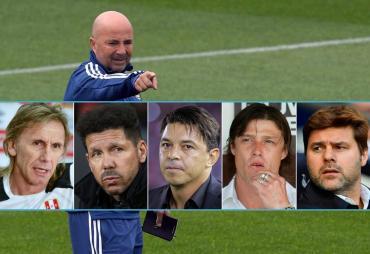 Buscando DT: ¿quién sucederá a Jorge Sampaoli en la Selección?