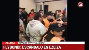 Flybondi: el video del escándalo en Ezeiza con pasajeros indignados