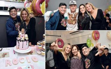 Diego Maradona y Rocío Oliva se casan: se viene la boda