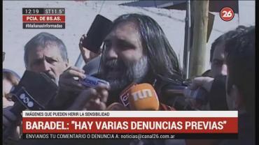 """Baradel, tras explosión en escuela de Moreno: """"Hay varias denuncias previas"""""""