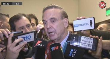 Pichetto se lanzó como precandidato presidencial:
