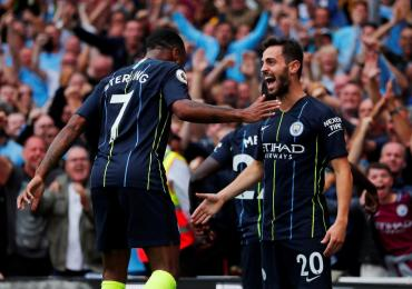 Premier League: con Agüero de titular, el City derrotó a Arsenal
