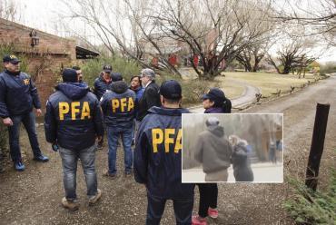 VIDEO: así fueron los incidentes en los allanamientos a Cristina Kirchner en El Calafate