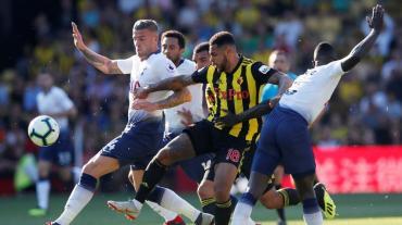 Premier League: Watford le ganó al Tottenham de Pochettino